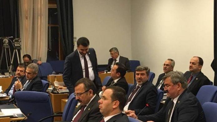 Çaturoğlu, Plan Ve Bütçe Komisyonu'nda Konuştu