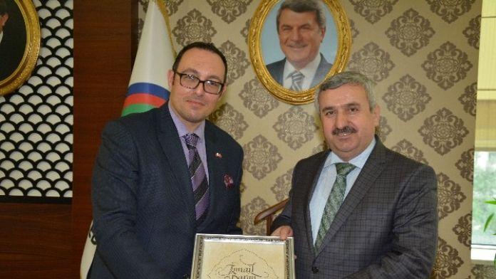 Başkan Baran, Malta Baş Konsolosu Fronklin Aguilina'yı Ağırladı