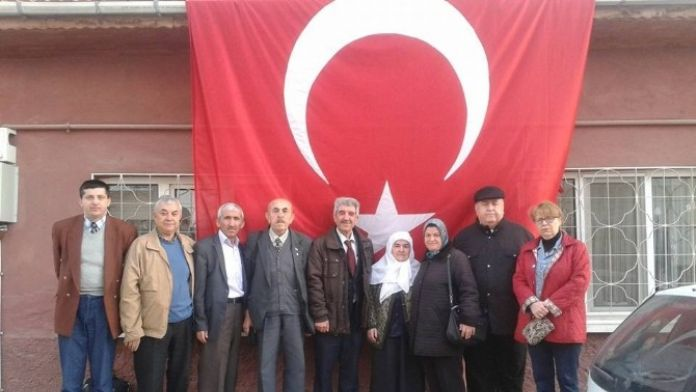 Esküder'den Eskişehir'deki Şehit Ailesine Taziye Ziyareti