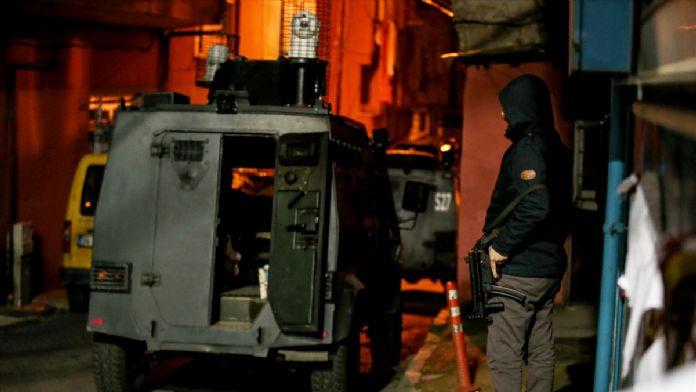 İstanbul'daki terör operasyonu