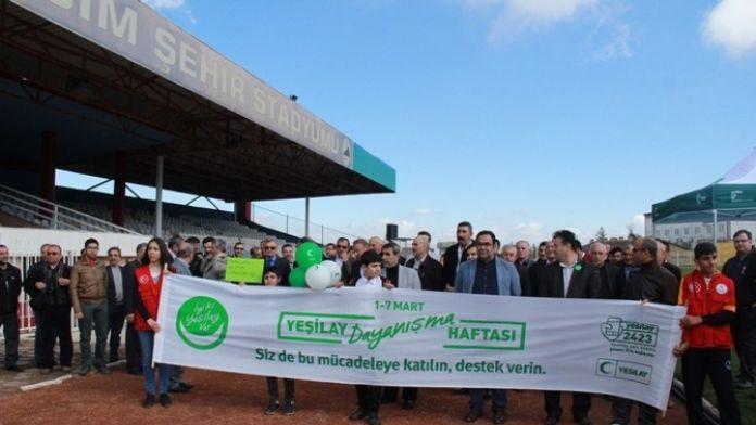 Mardin'de Yeşilay Haftası Etkinlikleri