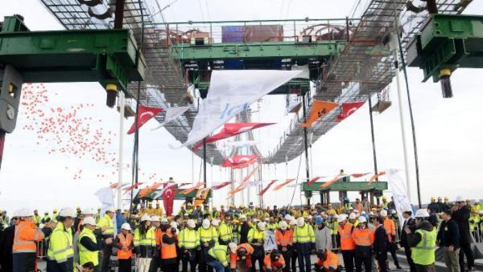 Europe and Asia meet again with third bridge over the Bosphorus