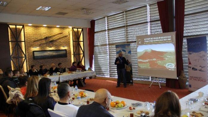 Turizm Yazarları Erciyes'e Hayran Kaldı