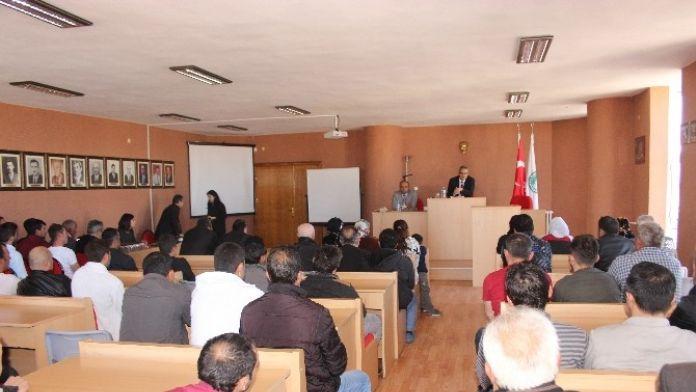 Hükümlülere 'Suç Ve Suçu Önleme' Konferansı