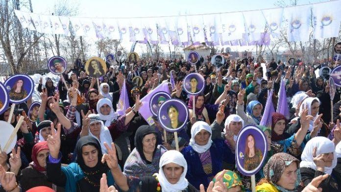 Yüksekova'da Kadınlar Günü Kutlandı