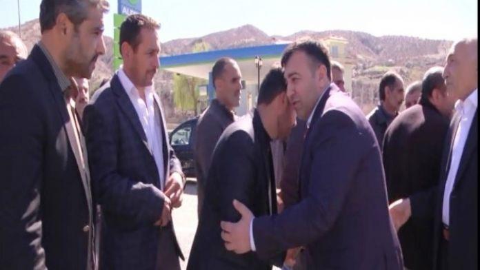 AK Parti Pütürge İlçe Başkanlığı'na Atanan Mikail Sülük Konvoylarla Karşılandı