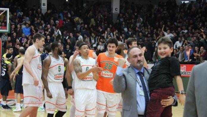 Banvit - Fenerbahçe: 76-75