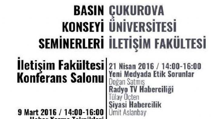 Basın Konseyi, Adana'da seminerler düzenliyor