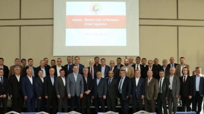 Mersin Ve Adana İş Dünyası, Sorunların Çözümü İçin Güç Birliğine Gidiyor