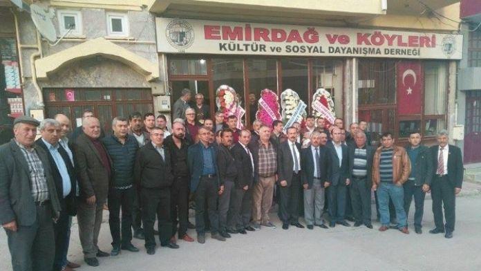 Emirdağ Ve Köyleri Kültür Ve Sosyal Dayanışma Derneği Başkanı Adnan Karamanlı Oldu