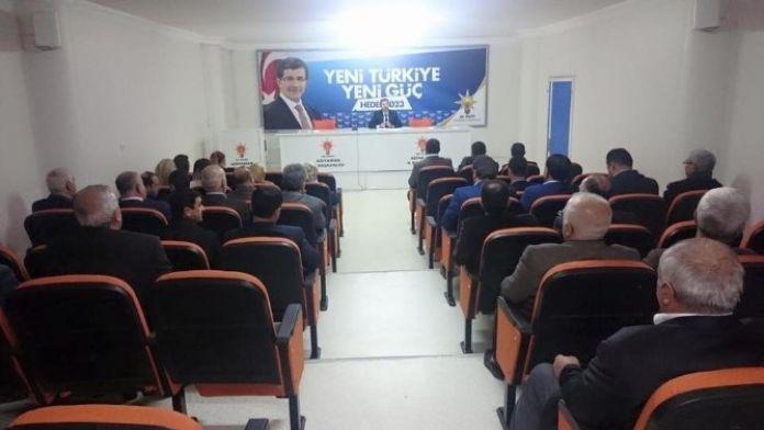 AK Parti Yürütme Kurulu Belli Oldu