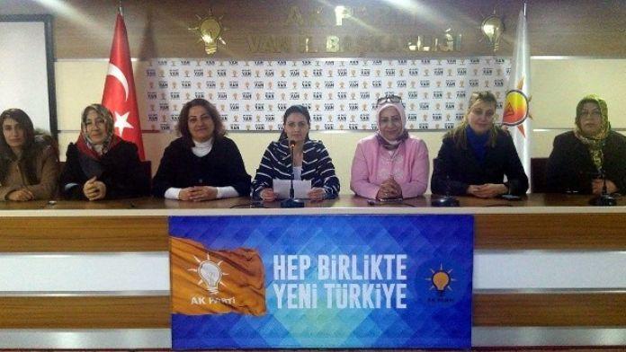 AK Partili Kadınlardan 8 Mart Açıklaması