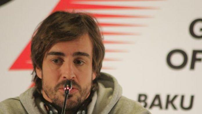 Fernando Alonso: 'Bakü'deki yarışı sabırsızlıkla bekliyorum'