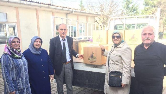 Kartepe'den Bayır Bucak Türkmenlerine Yardım Eli