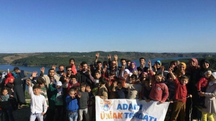 AK Parti'li Gençlerden Suriyeli Öğrencilere Piknik