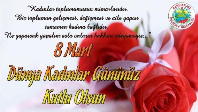 Sarıcakaya Belediye Başkanı Güler, Kadınlar Günü'nü Kutladı