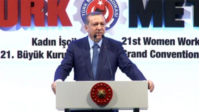Erdoğan: Çukurlara gömülecekler