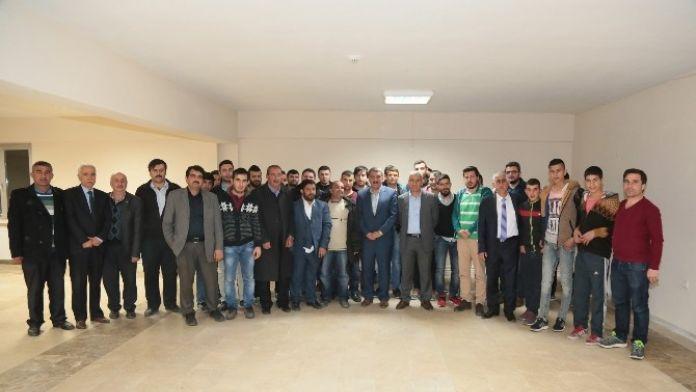 Gürkan, Sınava Girecek Öğrencilerle Bir Araya Geldi