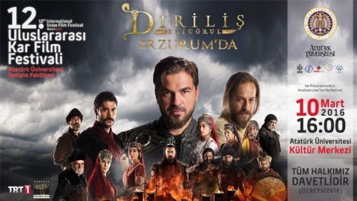Diriliş 'Ertuğrul' 12. Kar Film Festivali'nde