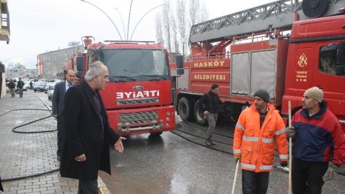 Hasköy Belediyesi Bahar Temizliğine Başladı