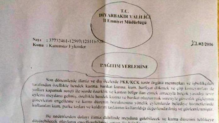 Diyarbakır'da yol ve kaldırım çalışmaları durduruldu