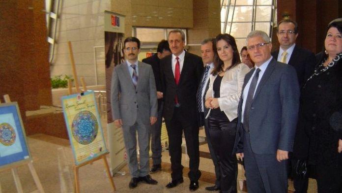 İzmir Adliyesi'nde Sanatla Terapi Sergisi