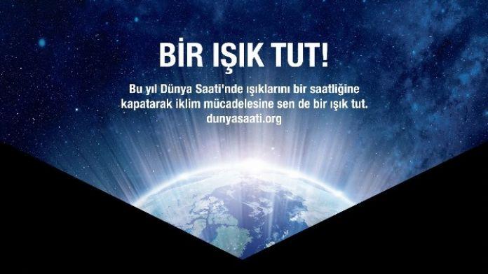 Büyükşehir'den 'Dünya Saati' Etkinliğine Destek