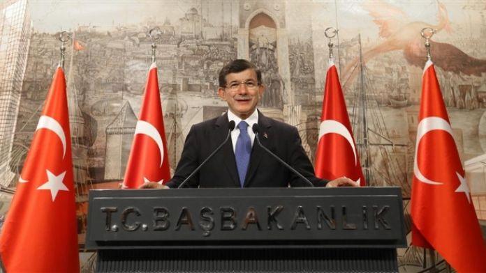 Davutoğlu Twitter'dan da kutladı