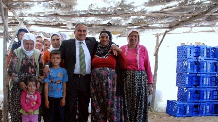 Başkan Tollu, Kadınların Gününü Kutladı