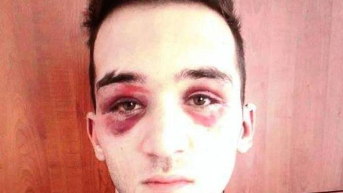 Dolandırmaya çalıştığı kişiler tarafından dövüldü