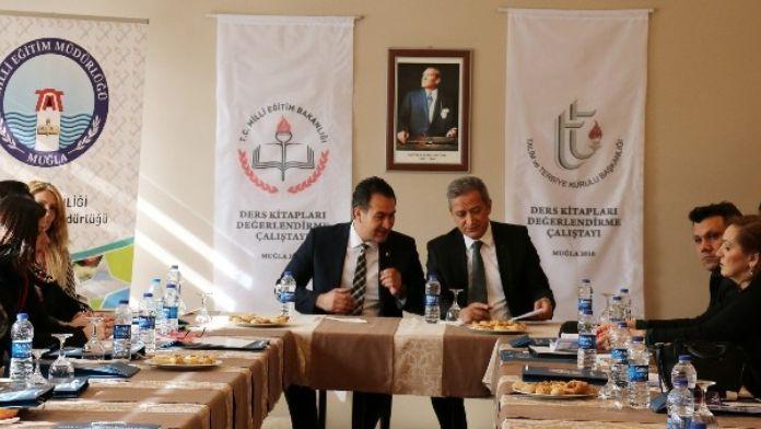 Ders Kitaplarını Değerlendirme Çalıştayı Muğla'da