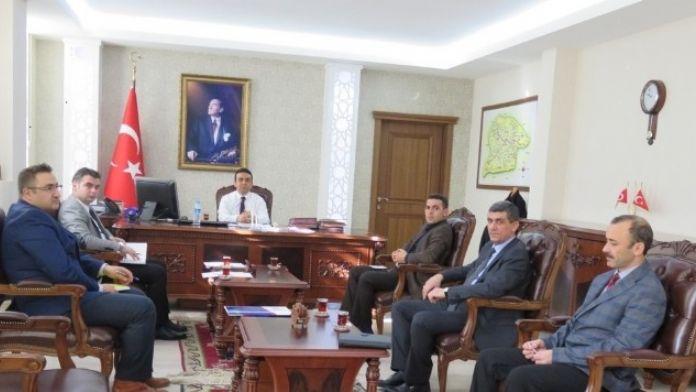Kağızman'da İlçe Tüketici İlçe Hakem Heyeti Değerlendirme Toplantısı Yapıldı