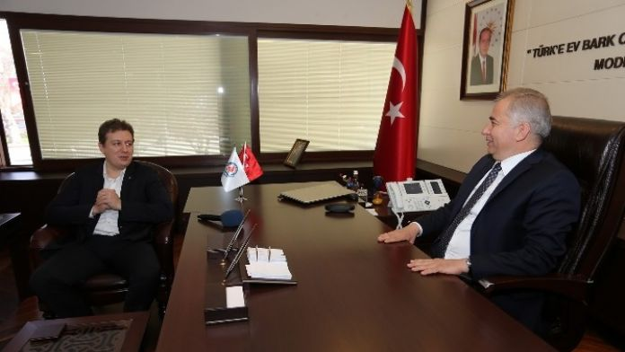AK Parti İl Başkanlığı'ndan Başkan Zolan'a Ziyaret