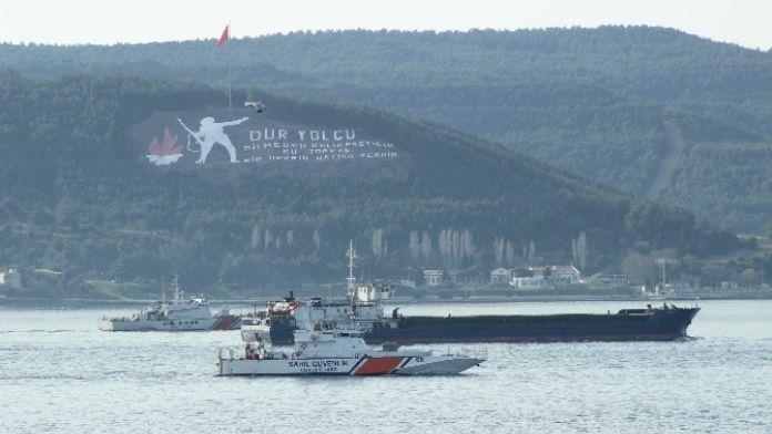 Rus askeri gemisi dolu gitti, boş döndü