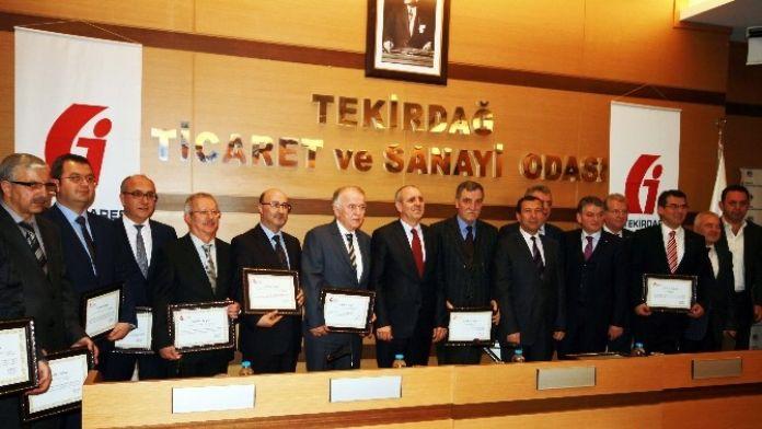 Trepaş'a Kurumlar Vergisi Ödülü Verildi