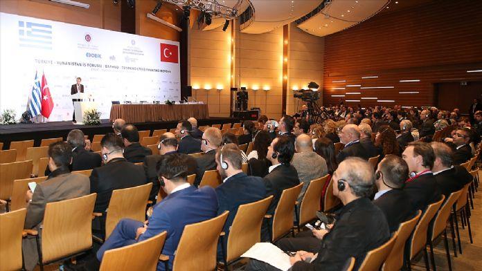 Türkiye-Yunanistan İş Forumu