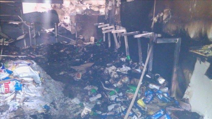 Şanlıurfa'da markete molotofkokteyli saldırı