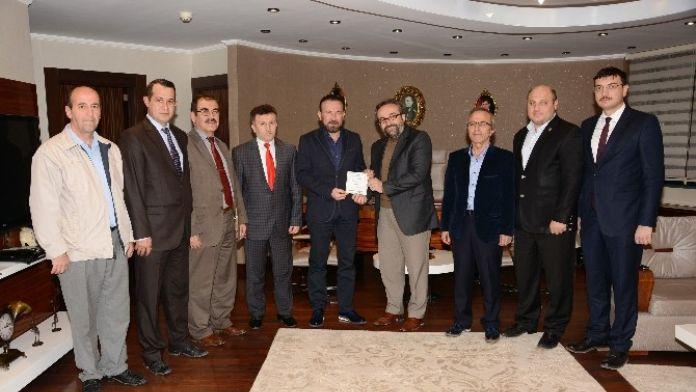 Artvin Kültür Ve Dayanışma Derneği'nden Başkan Doğan'a Ziyaret