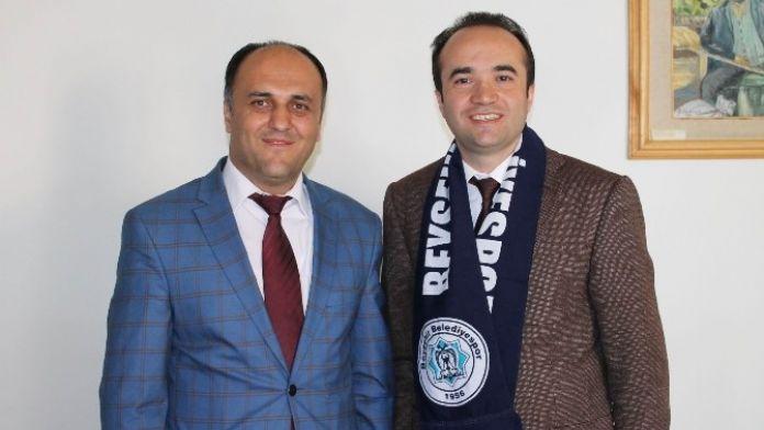 Başkan Özaltun'dan Kaymakam Özyiğit'e Ziyaret