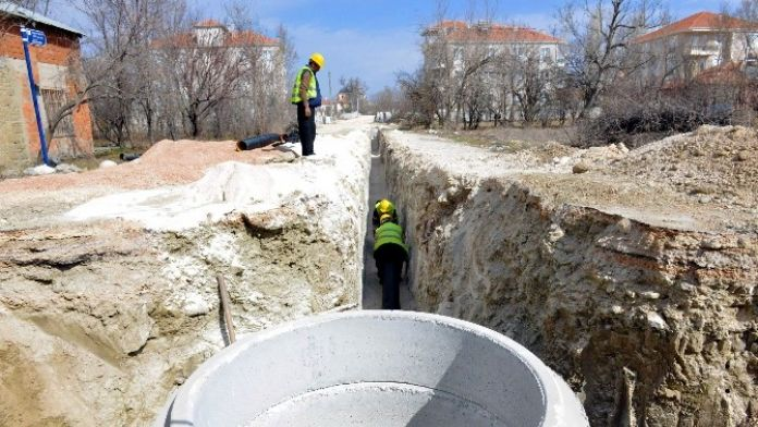 Korkuteli İlçesine 30 Kilometrelik Kanalizasyon