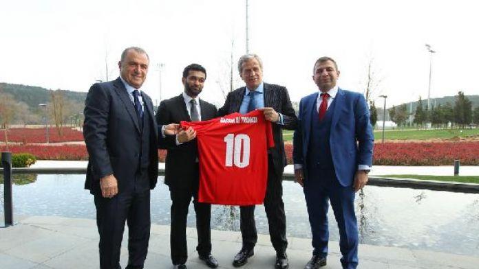 Katar heyeti Futbol Federasyonu'nu ziyaret etti