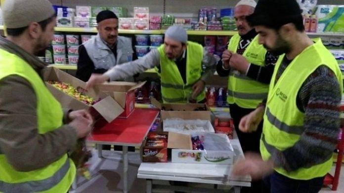 Malatya'dan Bayır Bucak Türkmenlerine Yardım