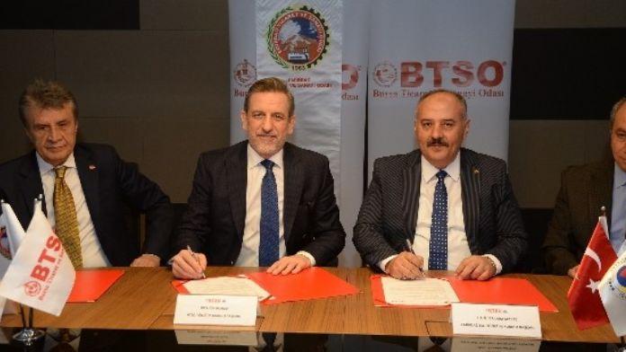 BTSO, Emirdağ Ticaret Ve Sanayi Odası İle Kardeşlik Protokolü İmzaladı