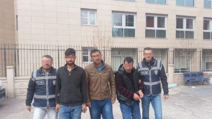Aksaray'da Üç Yankesici Tutuklandı