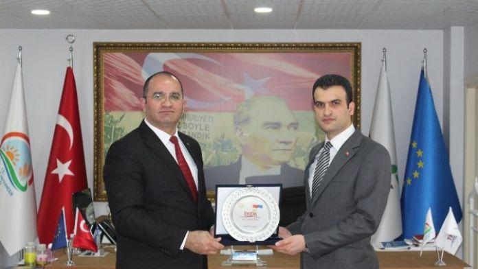 Ağrı Vali Yardımcısı İnci TKDK'yı Ziyaret Etti