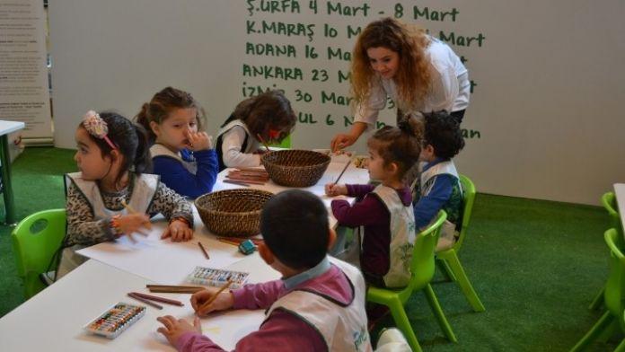 Şanlıurfalı Çocuklar, Piazza AVM'de Hayallerindeki Geleceği Resmetti