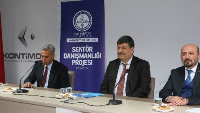Sektör Danışmanlığı Projesi Kontimder Üyelerine Anlatıldı
