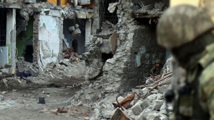 İdil'de bodrum kata operasyon: 6 terörist öldürüldü