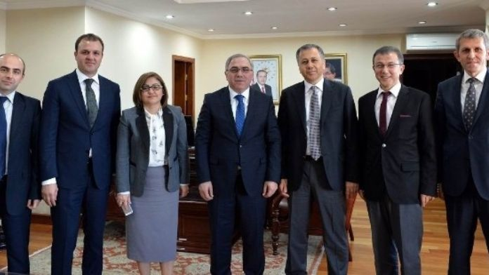 Şahin Ve Yerlikaya'dan TOKİ Başkanı Turan'a Ziyaret