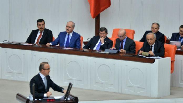 Davutoğlu ve Kılıçdaroğlu Meclis'te